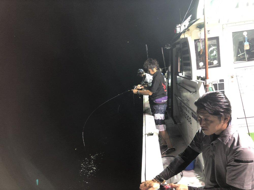富山JCのアカイカ釣り大会に参加!