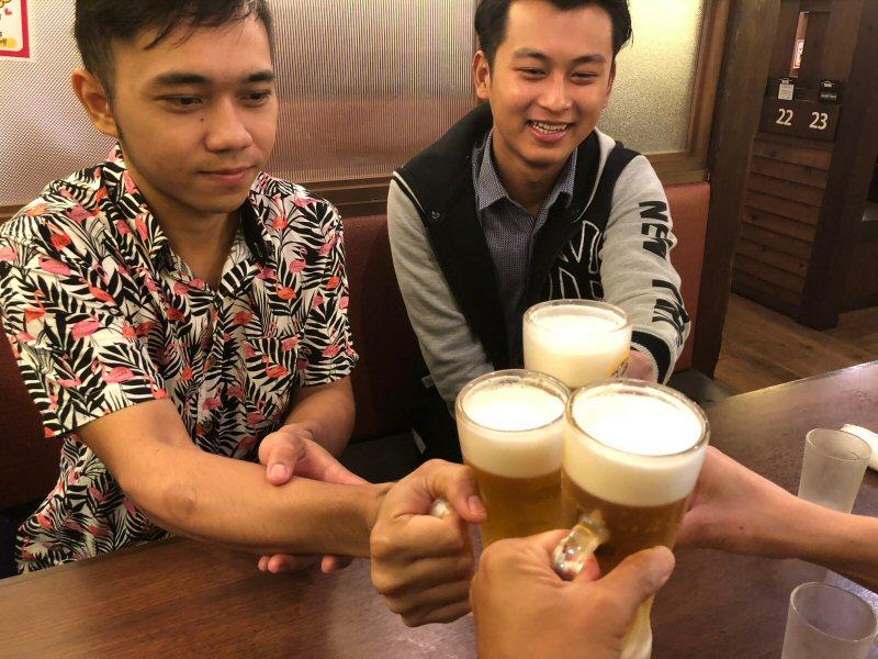 ミャンマー人技能実習生チョーさんの誕生日会という飲み会!
