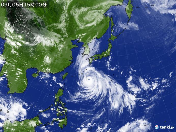 過去最強クラスの台風10号!