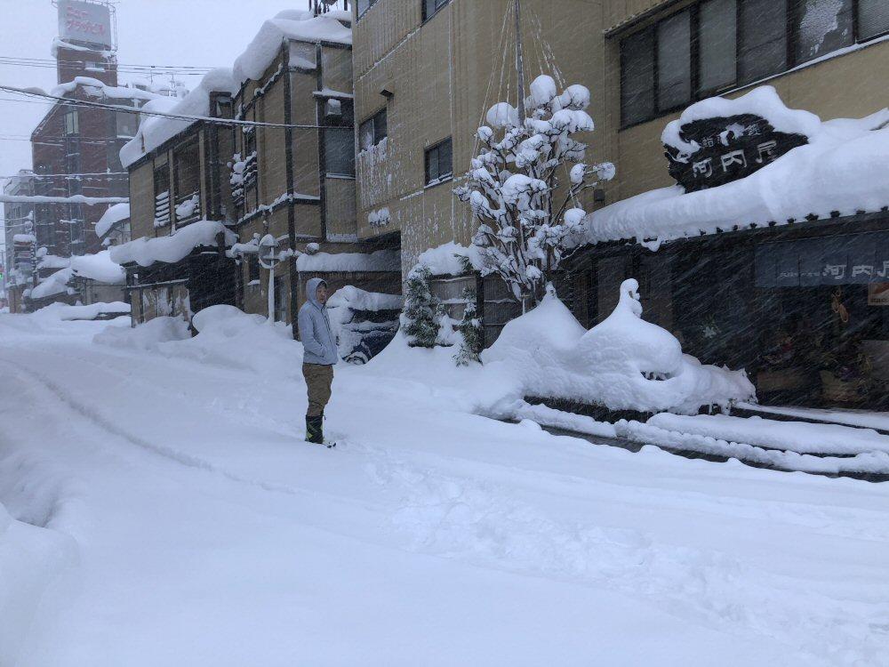 魚津は積雪78cmで県内で一番積雪が少ないとのこと!