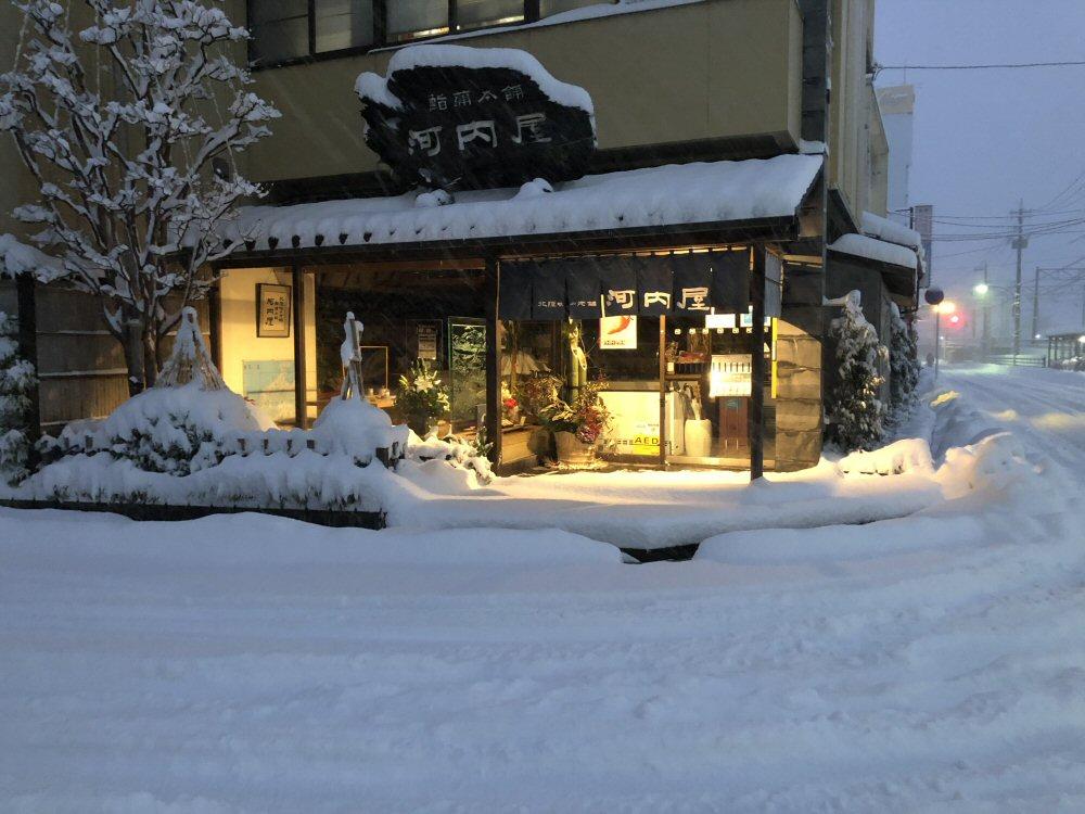 緊急事態宣言と大雪警報!久しぶりのドカ雪です!