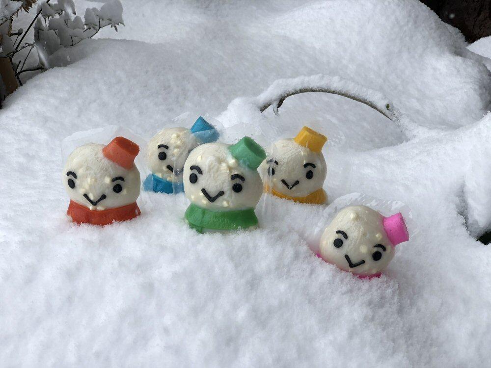 雪だるまくんの季節です!