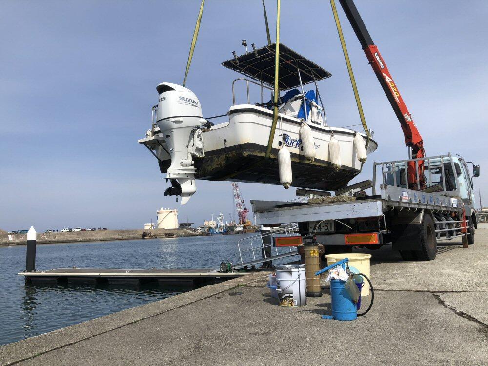 船外機のエンジンオイル、ギヤオイルを交換!