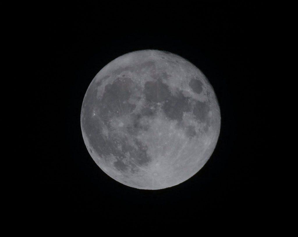満月の中秋の名月!