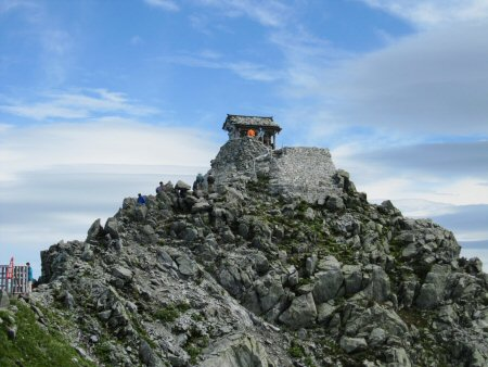 富山県で一番高い場所