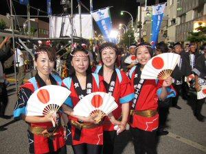 蝶六踊り街流し2010!