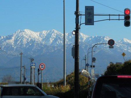 富山は快晴、素晴らしい天気でした!