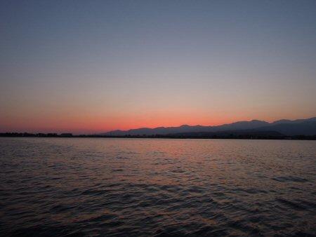 穏やかな一日、富山湾に癒されて・・・